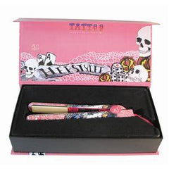 HERSTYLER FLAT IRON TATTOO 1 IN. PINK DUAL VOLTAGE 67590