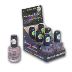 INM NORTHERN LIGHTS SILVER TOP COAT 1/2 OZ