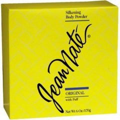 JEAN NATE SILKENING BODY POWDER 6 OZ.