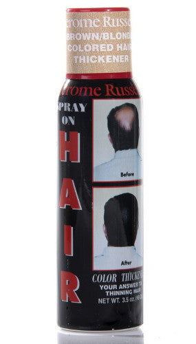 Jerome Russell Spray On Hair Color Thickener 3 5 Oz