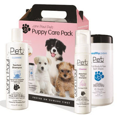 JOHN PAUL PET PUPPY CARE PACK 3 PIECE