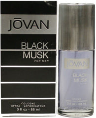 JOVAN (M) BLACK MUSK COLOGNE SPRAY 3 OZ.