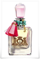 JUICY COUTURE PEACE LOVE AND JUICY WOMEN`S EDP SPRAY 3.4OZ