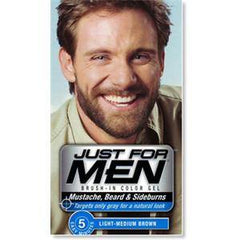 JUST FOR MEN COLOR GEL-LIGHT MEDIUM BROWN 4910