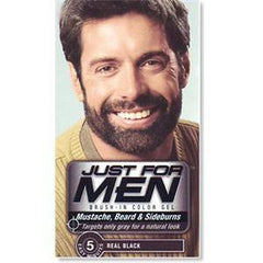 JUST FOR MEN COLOR GEL-REAL BLACK 4905