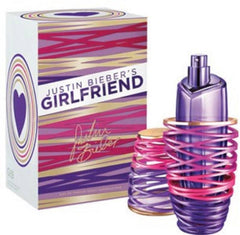 JUSTIN BIEBER GIRLFRIEND WOMEN`S EAU DE PARFUM SPRAY 3.4 OZ.