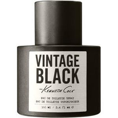 KENNETH COLE VINTAGE BLACK MEN`S EDT 3.4 OZ