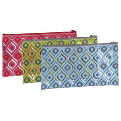 KINGSLEY CLEAR PAISLEY SMALL COSMETIC BAG