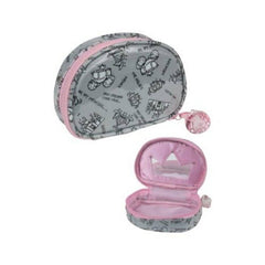 KINGSLEY PRINCESS OVAL COSMETIC BAG NS-150