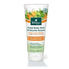 KNEIPP BODY WASH-ORANGE AND LINDEN 6.8 OZ 2704