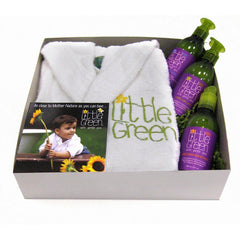 LITTLE GREEN TODDLER ROBE GIFT SET $92 VALUE
