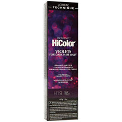 Loreal Professional Excellence HiColor Black & Violet Hair Color