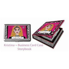 LUCKIE STREET BUSINESS CARD CASE-KRISTINA