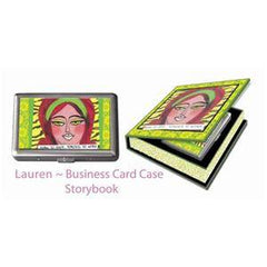 LUCKIE STREET BUSINESS CARD CASE-LAUREN