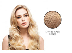 LuxHair HOW by Tabatha Coffey 10 Inch Circle Extension Beach Blonde