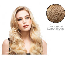 LuxHair HOW by Tabatha Coffey 10 Inch Circle Extension Light Golden Brown