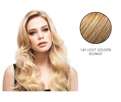 LuxHair HOW by Tabatha Coffey 16-18 Inch Circle Extension Light Golden Blonde