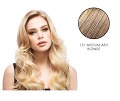LuxHair HOW by Tabatha Coffey 16-18 Inch Circle Extension Medium Ash Blonde