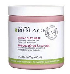 Matrix Biolage RAW Re-Hab Clay Mask 14.4 oz