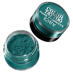MAYBELLINE COLOR TATTOO PURE PIGMENTS UP TO 24 HOUR SHADOW NEVER FADE JADE