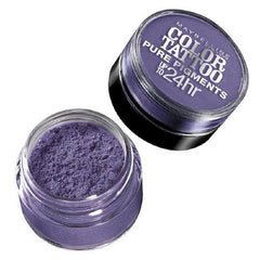 MAYBELLINE COLOR TATTOO PURE PIGMENTS UP TO 24 HOUR SHADOW POTENT PURPLE