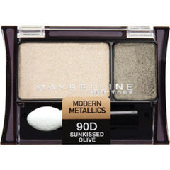 MAYBELLINE EXPERT WEAR EYESHADOW DUO SUNKISSED OLIVE