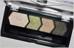 MAYBELLINE EYE STUDIO COLOR PLUSH SILK SHADOW QUAD GREEN WITH ENVY