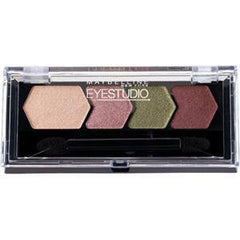 MAYBELLINE EYE STUDIO COLOR PLUSH SILK SHADOW QUAD MAD FOR MAUVE