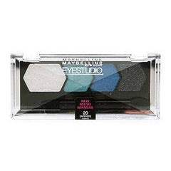 MAYBELLINE EYE STUDIO COLOR PLUSH SILK SHADOW QUAD SAPPHIRE SIREN