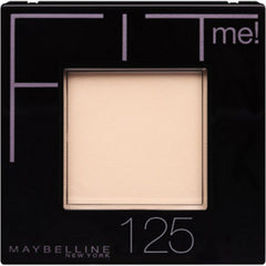 MAYBELLINE FITME PRESSED POWDER 125 (NUDE BEIGE)