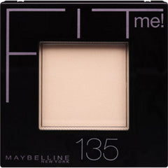 MAYBELLINE FITME PRESSED POWDER 135 (CREAMY NATURAL)