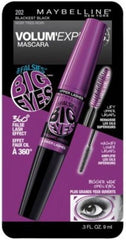 MAYBELLINE VOLUM`EXPRESS FALSIES BIG EYE WASHABLE BLACKEST BLACK