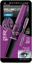 MAYBELLINE VOLUM`EXPRESS FALSIES BIG EYE WATERPROOF VERY BLACK