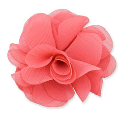 MIA FLOWER CLIP/PINS LARGE PINK