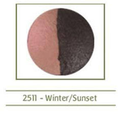 MILJO TERRA EYESHADOW DUO WINTER/SUNSET 2511