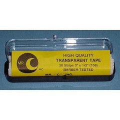 MR C TRANSPARENT STRIP TAPE 36 CT X 1/2 IN.