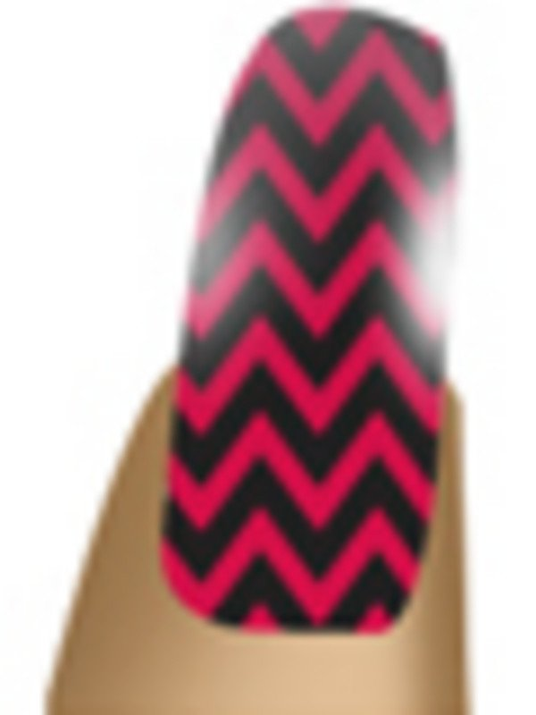 NAIL WOW RED ZIG ZAG – Image Beauty