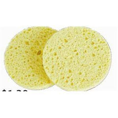NEW ENGLAND SPONGE DEEP FACIAL SPONGE 2/PACK 208