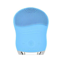 Stylecraft Facial Cleansing Brush-Blue