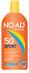 NO AD SPORT SUN BLOCK LOTION 16 OZ SPF 50