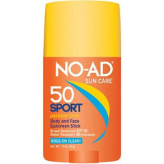 NO AD Sport Sunscreen Stick SPF 50 1.5 Oz