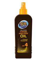 Ocean Potion Dark Tanning Xtreme Amplifier Oil SPF 4 8.5 Oz