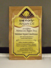 ONE N ONLY ARGAN OIL MOISTURE REPAIR CONDITIONER PACKET 1 OZ