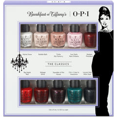 OPI Breakfast at Tiffanys The Classics Mini Set