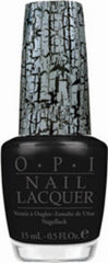 OPI NAIL POLISH E53 BLACK SHATTER .5 OZ