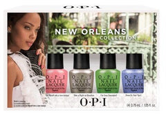 OPI New Orleans Jambalayettes Mini Collection 4 x .125 oz