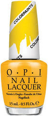 OPI P20 Primarily Yellow-Color Paints Collection
