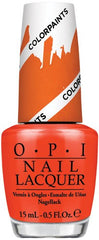 OPI P21 Chromatic Orange-Color Paints Collection