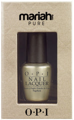 OPI PURE 18K GOLD AND SILVER TOP COAT .5 OZ- HOLIDAY 2013
