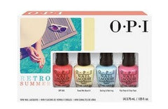 OPI Retro Summer Mini Collection 4 x .125 oz